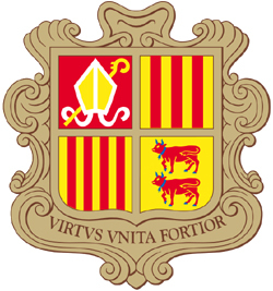 The coat of arms of: