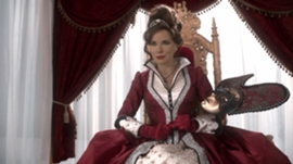 In once Upon a Time Who portrayed young Cora?