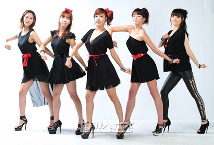 Who was the maknae of Swing Girls?