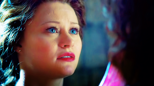 Why was Belle upset with Rumpel in this scene?