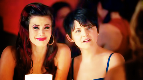 What are Ruby and Mary Margaret looking at here?