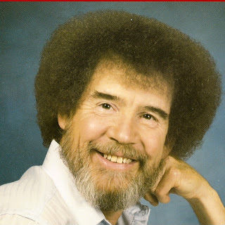 Painter, Bob Ross, passed away back in 1995