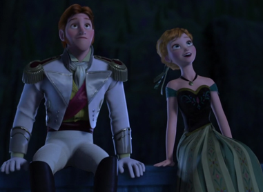 T/F: Prince Hans lied about having 12 older brothers and them hating him to get sympathy from Anna.