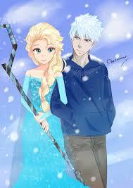 elsa and jack have the same personatily and powers they both just want to be free and to be there self and be free if could  date would they.