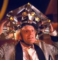 how many times does dr emmett brown say great scott ?