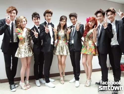 Who dance with TaeTiSeo at SBS Gayo Daejun?