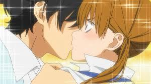 what episode did Haru and Shizuku Kiss!!?