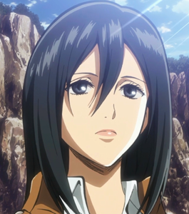 For the English dub of Attack On Titan, who provides Mikasa's voice?