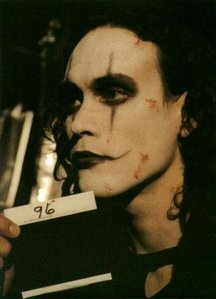 The crow: It can't rain________