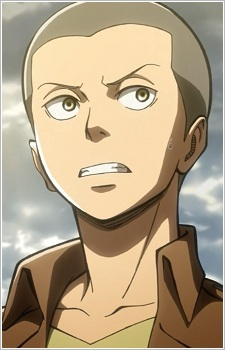For the English dub of Attack On Titan, who provides Connie's voice?