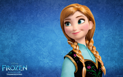 Frozen's love story is similar to that's of _____________