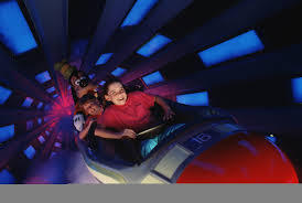 How fast do the rockets on Space Mountain in the Magic Kingdom travel?