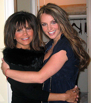 What are the the names of the 2 books Britney co wrote with her mother?