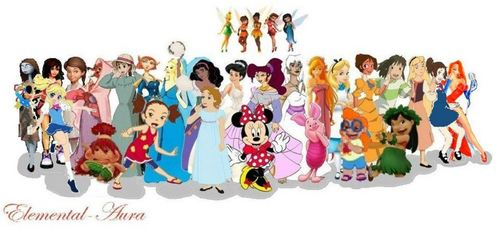 Which Extended Princess was dropped from the Official Princess line?