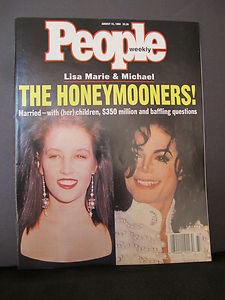 Who interviewed Michael Jackson and Lisa Marie Presley back in 1995