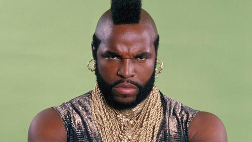 Mr. T was born on the.....