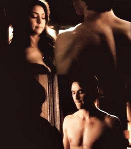 """Complete the dialogue. Damon to Elena: """"Your loss...."""""""
