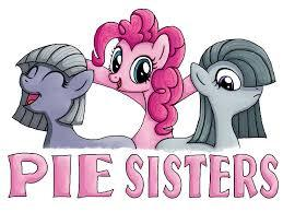 What are Pinkie Pie's sisters' nick names?