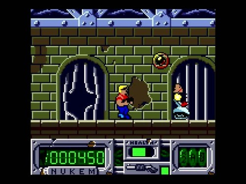 In Duke Nukem(GBC), what do 당신 have to do in order to get an Extra Life?