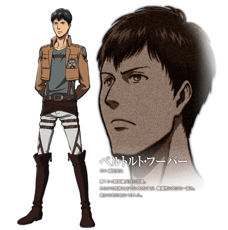 "What is Bertholdt's ""official"" nickname?"