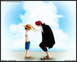 Does Luffy ever meet Shanks face to face after he sets out to be a pirate? (2014/4/06)