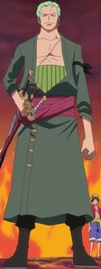 How tall is Zoro? (After timeskip)