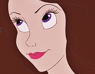 "★ True or False: Vanessa is the only character with Purple Eyes in ""The Little Mermaid"" (1989) ★"
