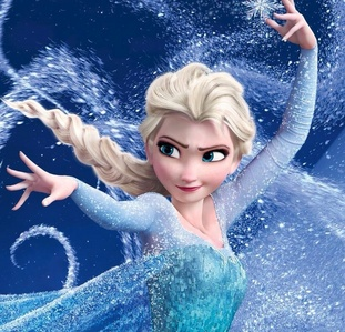 As Elsa born o cursed with her power?
