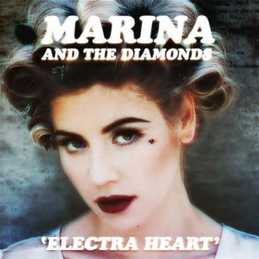 When was Marina's second album, 'Electra Heart' released?