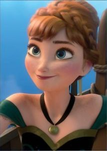 What is the hair color of Anna?