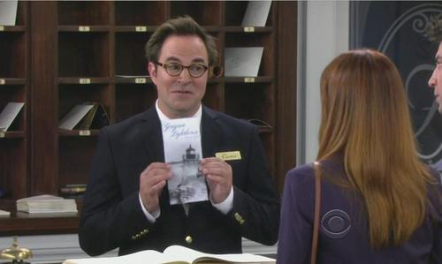 What romantic outing does Curtis (Roger Bart's character) suggest to Lily upon check-in at the Far Hampton inn?
