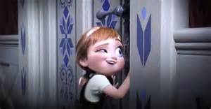 First Time Anna Knocks on Elsa's Door: How many times does she knock?