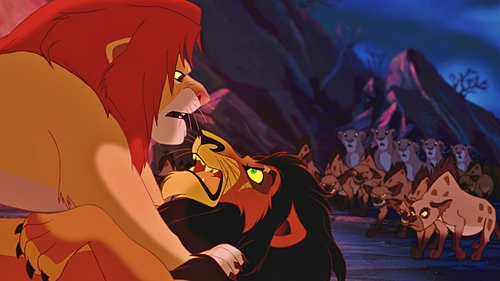 ★ When Simba forces Scar to tell the Truth about Mufasa's Death to the other Lionesses, who Jumps first toward Scar? ★