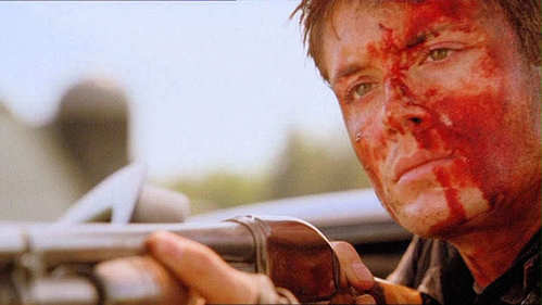 What TV show was this screencap of Jensen taken from?