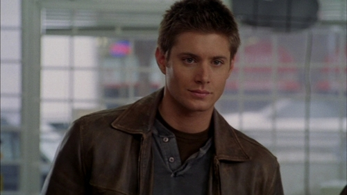 What TV show/movie is this screencap of Jensen taken from?
