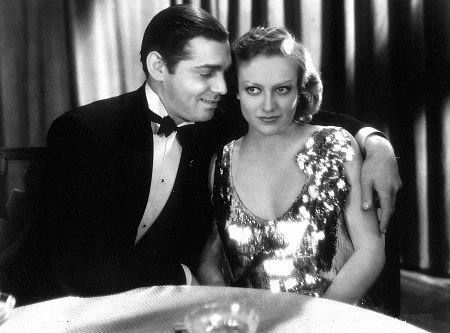 What film was the first of eight collaborations between Joan Crawford and Clark Gable?