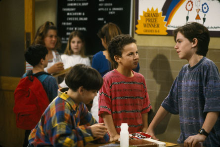 What grade was Cory in the first season?