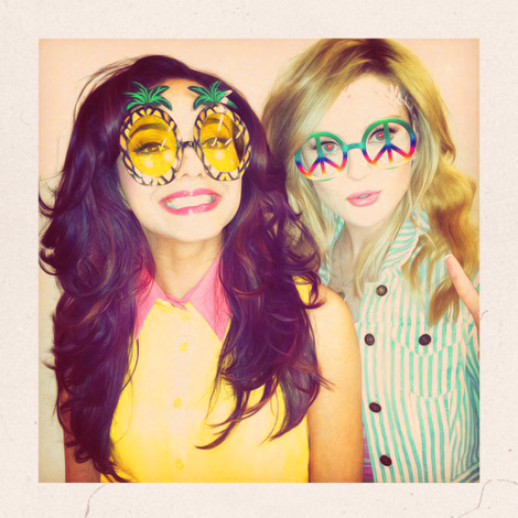 True oder False: Jade and Perrie knew each other before they went on the Xfactor