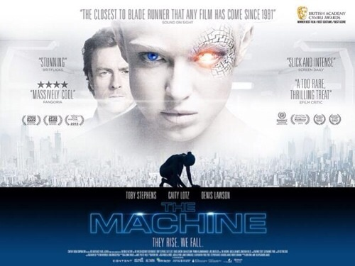 What award was Caity nominated for her starring role in The Machine?