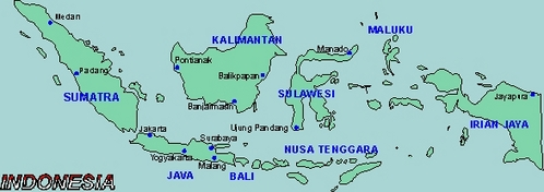 How many islands are there in Indonesia?