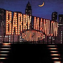 "What ano was Barry Manilow's broadway album, ""Showstoppers"", released"