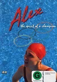 In the movie Alex: the spirit of a champion she is training to be a New Zealand swimmer at what Olympic Games?