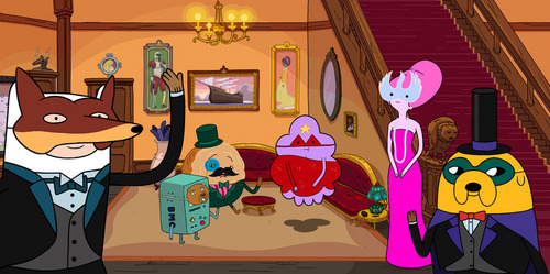 (Who wants to get a props?) 3rd question costs 5 props *Comment your Answer* - In Adventure Time episode the creeps who left?