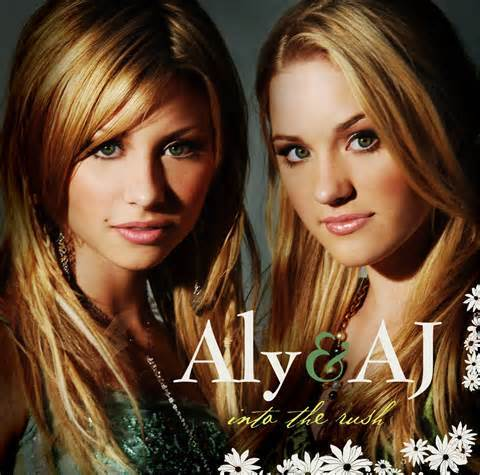 Aly and AJ's album into the rush was released in what year?