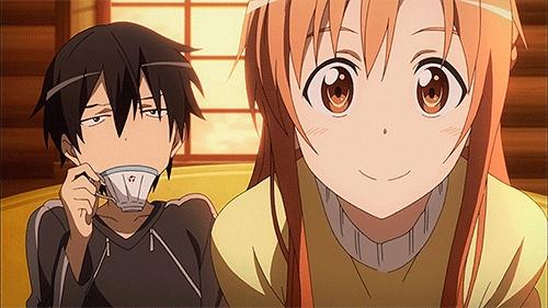Are Kirito and Asuna married in the game SAO?