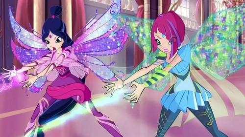 What are the names of these two fairies?