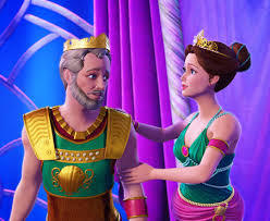 Barbie and the Pearl Princess: What is the name of Princess Lumina's parents?