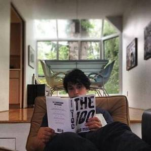 "T/F: A majority of the main cast read ""The 100"" book before getting their parts."