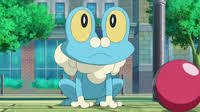 What gender is Ash's Froakie?