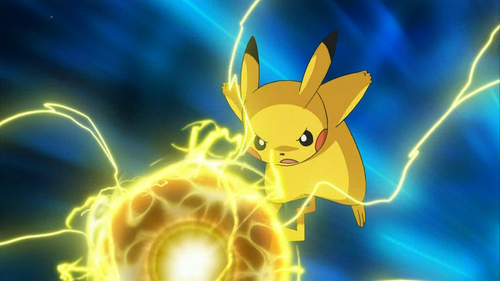 """Before he learned Electro Ball in """"Dancing With the Ducklett Trio"""" what was Ash's Pikachu's signature move?"""